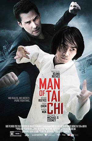 "Poster art for ""Man of Tai Chi."""