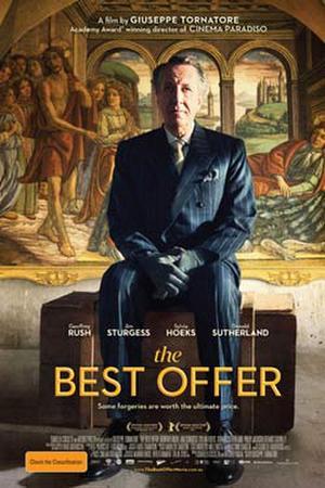"Poster art for ""The Best Offer."""