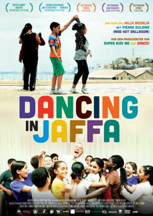 "Poster art for ""Dancing in Jaffa."""