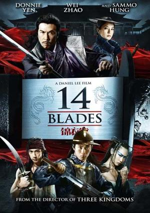 """Poster art for """"14 Blades."""""""