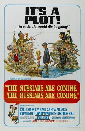 "Poster art for ""The Russians Are Coming, The Russians Are Coming!"""