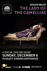 Bolshoi Ballet: Lady of Camellias showtimes and tickets