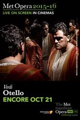 The Metropolitan Opera: Otello ENCORE showtimes and tickets