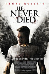 He Never Died (2015) showtimes and tickets