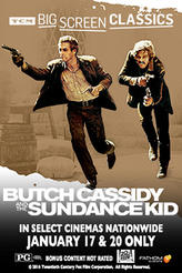 Butch Cassidy and the Sundance Kid (1969) presented by TCM showtimes and tickets