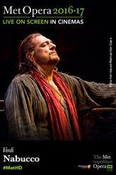 The Metropolitan Opera: Nabucco Encore showtimes and tickets