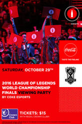 League Of Legends Watch Party With Coke showtimes and tickets