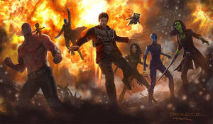 'Guardians of the Galaxy Vol. 2' Concept Art Shows Off New Team, Including Mantis and Baby Groot
