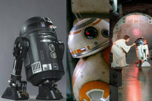 Is This R2-D2's Cousin? Check Out a New 'Star Wars' Droid from 'Rogue One'