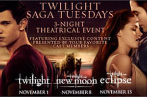 All Three 'Twilight' Films Returning to Theaters in November