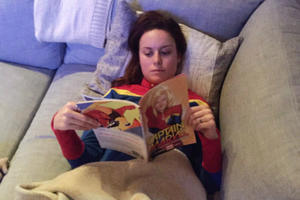 News Briefs: See Brie Larson Research 'Captain Marvel'