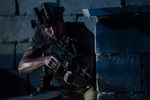 "Pablo Schreiber as Tanto in ""13 Hours: The Secret Soldiers of Benghazi."""