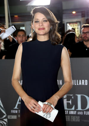 Check out the cast of the California premiere of 'Allied'