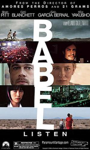 "Poster art for ""Babel."""