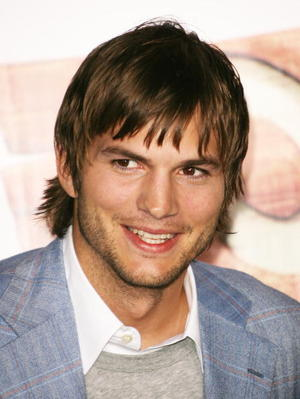 "Ashton Kutcher at the Los Angeles premiere of ""Open Season"""