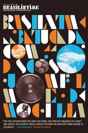 """Poster art for """"Brasilintime: Batucada Com Discos."""""""