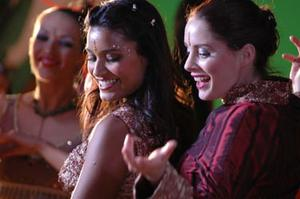 """Shelley Conn and Laura Fraser in """"Nina's Heavenly Delights."""""""