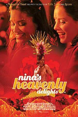 "Poster art for ""Nina's Heavenly Delights."""
