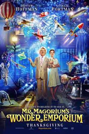 """Poster art for """"Mr. Magorium's Wonder Emporium."""""""