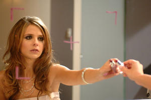 "Sarah Michelle Gellar in ""The Air I Breathe."""