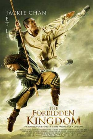 "Poster art for ""The Forbidden Kingdom."""