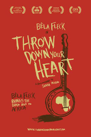 "Poster art for ""Throw Down Your Heart."""