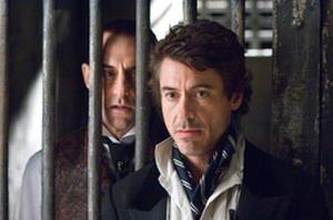 """Robert Downey Jr. as Sherlock Holmes in """"Sherlock Holmes."""""""