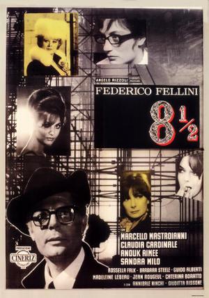 """Poster art for """"8 1/2."""""""