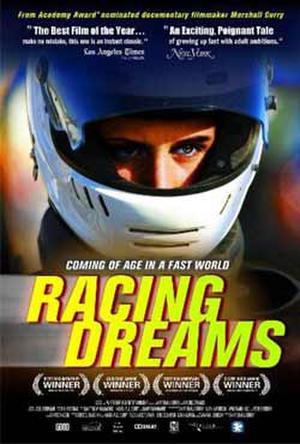 """Poster art for """"Racing Dreams."""""""