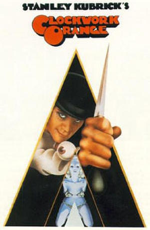 "Poster art for ""A Clockwork Orange."""
