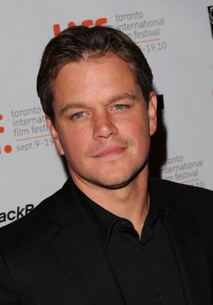 """Matt Damon at the Canada premiere of """"Hereafter (2010)."""""""