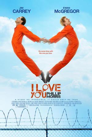 """Poster art for """"I Love You Phillip Morris."""""""