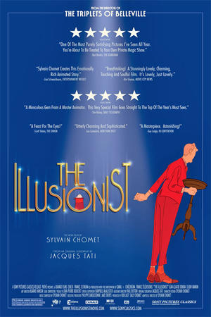"""Poster art for """"The Illusionist."""""""
