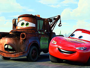 """A scene from """"Cars."""""""