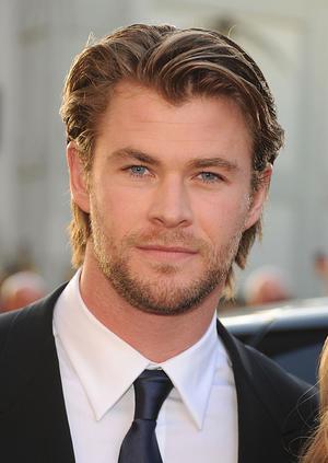 """Chris Hemsworth at the California premiere of """"Thor."""""""