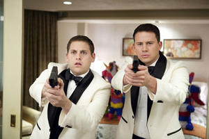 "Jonah Hill and Channing Tatum in ""21 Jump Street."""