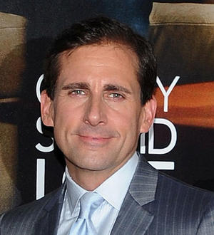"""Steve Carell at the world premiere of """"Crazy, Stupid, Love"""" in New York."""