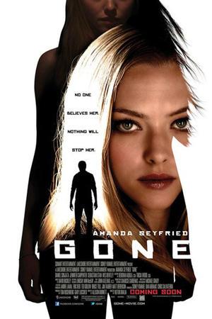 """Poster art for """"Gone."""""""