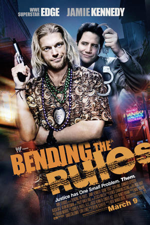 """Poster art for """"Bending the Rules."""""""
