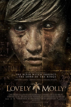 "Poster art for ""Lovely Molly."""