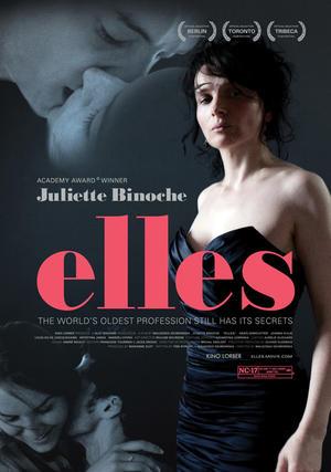 "Poster art for ""Elles."""