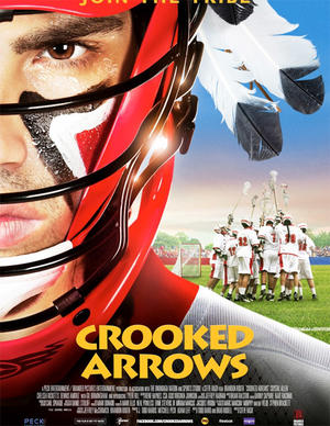 """Poster art for """"Crooked Arrows."""""""