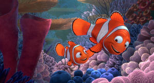 "A scene from ""Finding Nemo 3D."""
