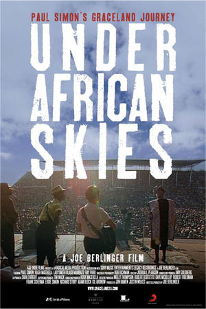 """Poster art for """"Under African Skies."""""""
