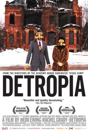 "Poster art for ""Detropia."""