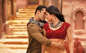 "Salman Khan and Katrina Kaif in ""Ek Tha Tiger."""