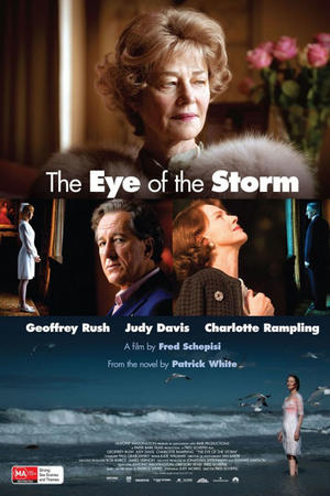 "Poster art for ""The Eye of the Storm."""
