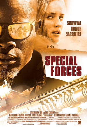 """Poster art for """"Special Forces."""""""