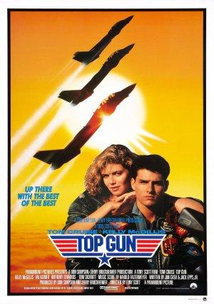 "Poster art for ""Top Gun."""