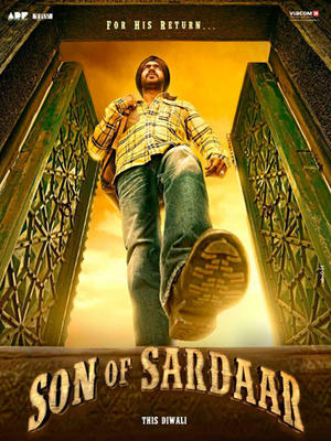 "Poster art for ""Son of Sardaar."""